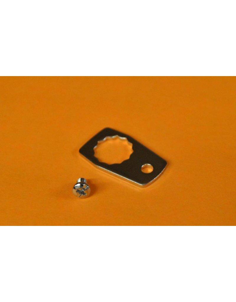 20944 +14868 - Abu Garcia Ambassadeur 4000 5000 6000 series Nut Keeper & Screw