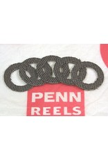 Penn HT-100 Drag Washer Kit fits Senator 114 114L2 6/0  Qty. 5