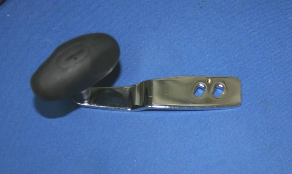 Shimano Shimano Torium  16 , 20, 30 Chrome Power Handle With Black Septon Grip - TGT0604