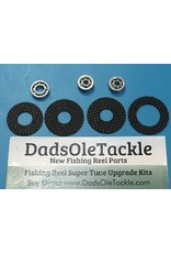 Upgrade Kit Carbon Drags and Super Fast Precision  Bearings for Shimano CT400B  K93