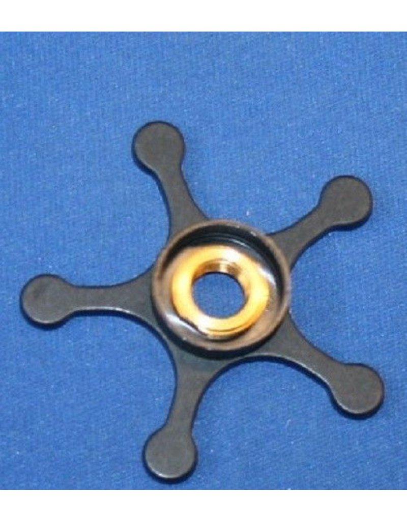 Abu Garcia Abu Garcia Ambassadeur Aluminum Star Wheel with Chrome Shield