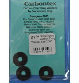 CD66 - Shimano Saragosa 8000 Smoothdrag Carbon Drag Set