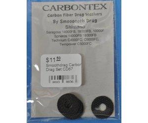 Shimano Shimano Smoothdrag Carbon Drag Set CD67 FREE SHIPPING