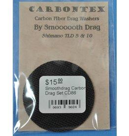 Smooth Drag CD86 - Shimano Triton TLD 5 & 10 Smoothdrag Carbon Drag Set