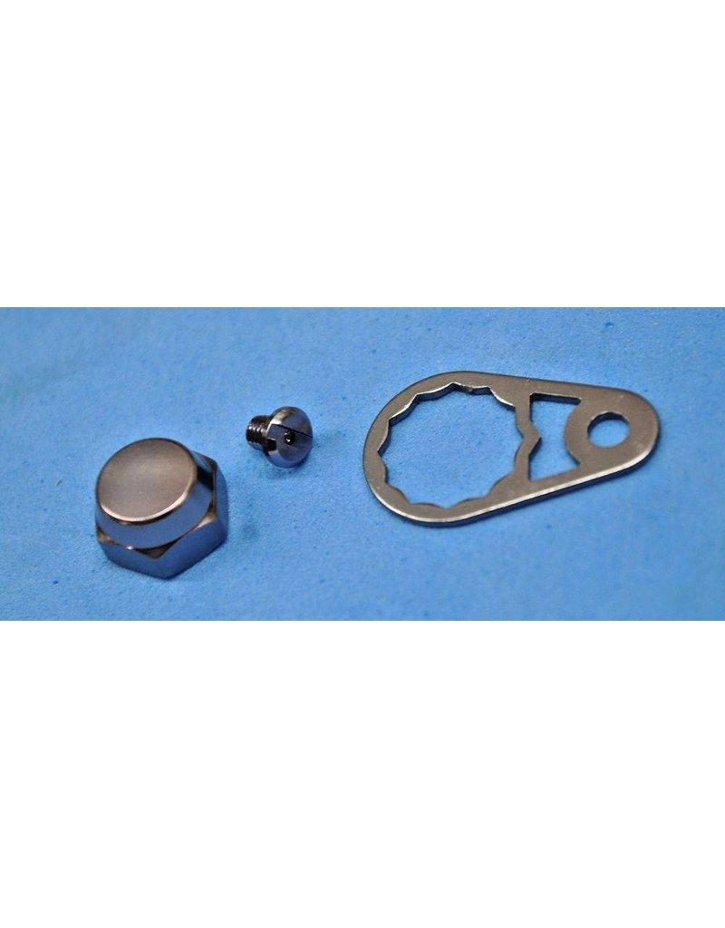Abu Garcia 1132928, 1132929, 1132930 - Right Hand ThreadsAbu Garcia Ambassadeur Revo PRM Nut Set