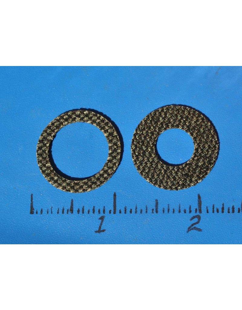 CD102 - CBT A#053-B Carbon Drag Washer set fits Abu Garcia Ambassadeur ROUND REELS YEAR 1988-1989  - CD102