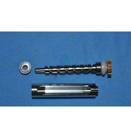 Bin 490 - K82 - Dual Bearing Worm Gear Kit Abu Garcia Ambassadeur 5000 5500 5600 C5 MAG 24756, 24752, D01