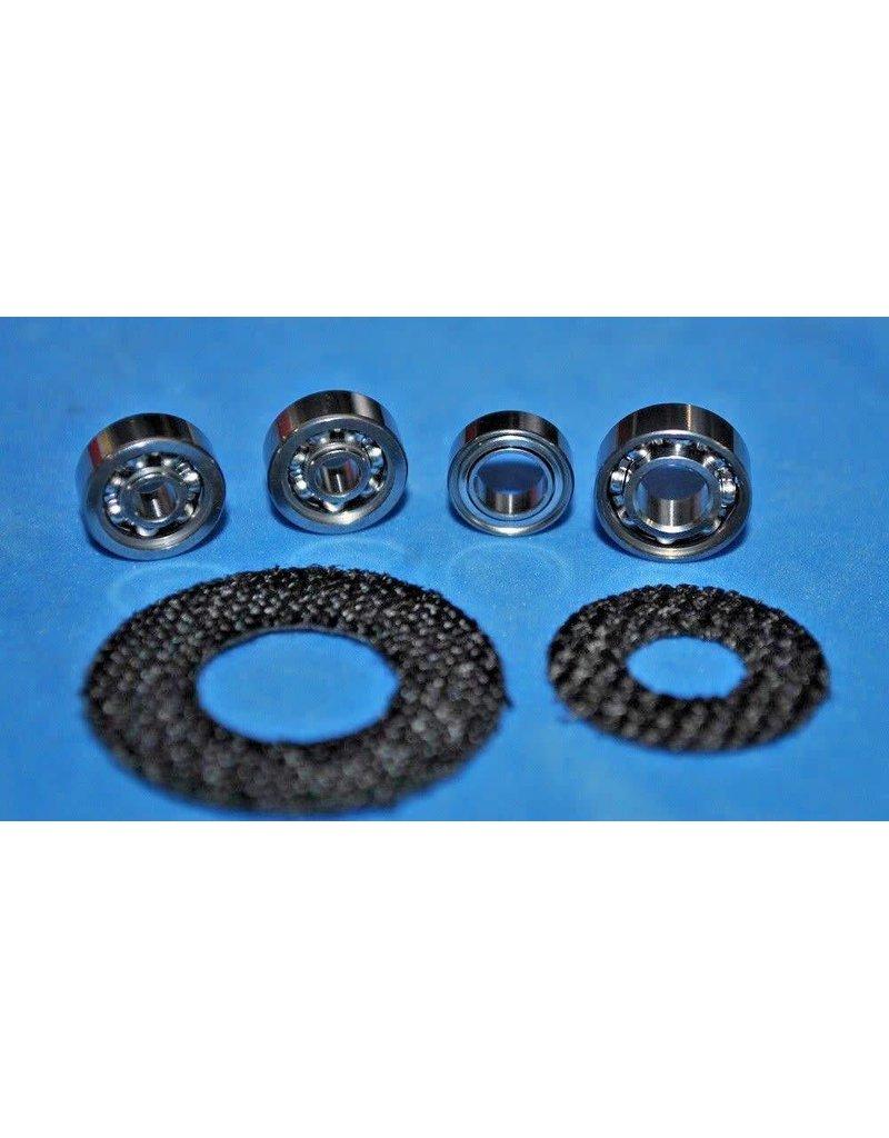 Shimano Shimano Bantam Curado and Bantam Citica Super Tune Kit Stainless Reel Bearings Carbon Drags Kit K25