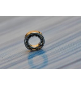 D4 - 4x7x2 - Unshielded Stainless Steel Bearing