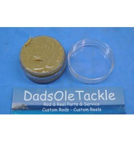 Cal's Grease Cal's Tan 1/2 oz. Universal Reel & Star Drag Grease in reuseable Container