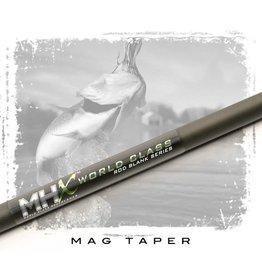 "MHX MB873 MHX Mag Bass Rod Blank 7'3"" | 10-17 lb. | 1/4 - 3/4 oz. | Fast Action | Medium-Heavy Power | 1 Piece | 5.5 Tip | 0.59 Butt | Slate Finish"