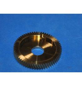 Bin 14D - Fishing Reel Part Abu Garcia Ambassadeur Brass Main Drive Gear 6.3:1 Ratio - 23955