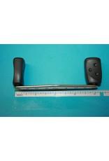 "Abu Garcia Abu Garcia Ambassadeur 4"" Revo Handle Dark Gray Grips With Regular 2-Plastic Bushings In Each Grip"