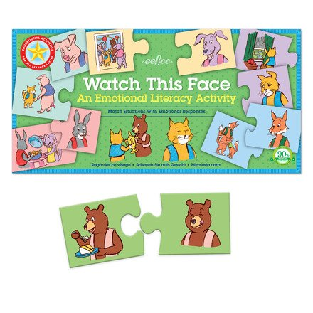 EeBoo eeBoo Watch This Face All Learner Puzzle Pairs