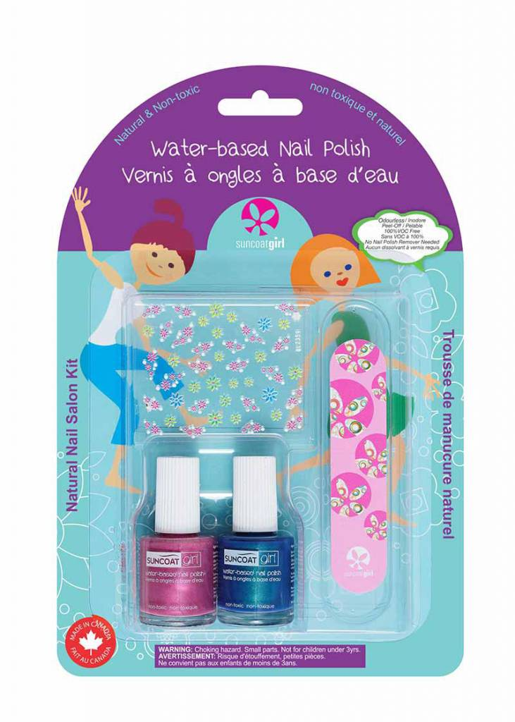Natural Nail Salon Kit Little Mermaid