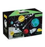 Mudpuppy Outer Space Glow In The Dark 100pc Puzzle