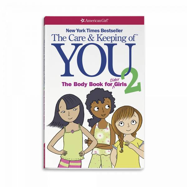 American Girl Publishing Care & Keeping of You The Body Book for Older Girls