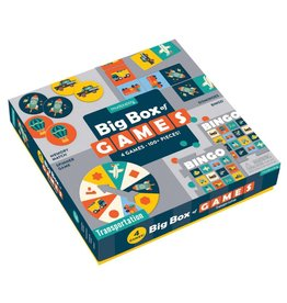 Mudpuppy Transportation Big Box Of Games
