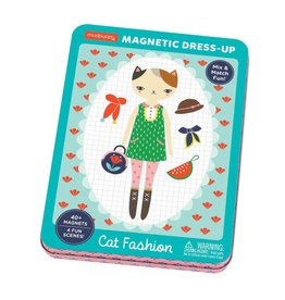 Mudpuppy Cat Fashion Magnetic Dress-Up