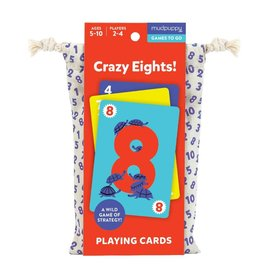 Mudpuppy Crazy Eights!  Playing Cards To Go