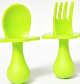 Grabease Grabease  Utensil Set of Spoon and Fork for Babies