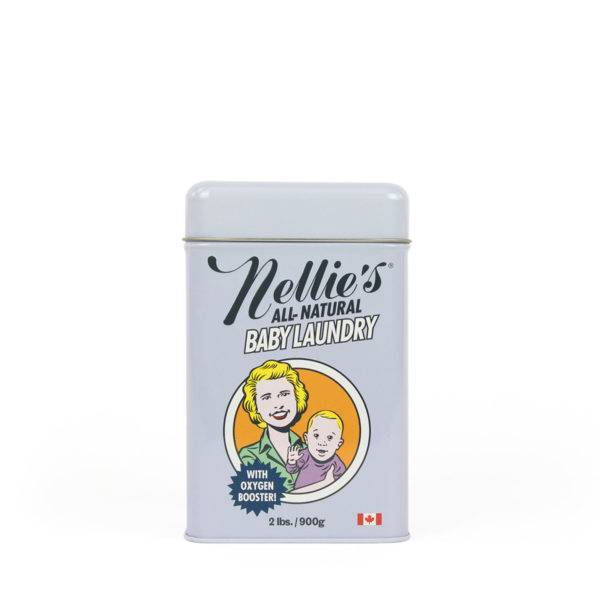 Nellie's Baby Laundry Soda Tin (80 Loads)
