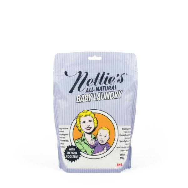 Nellie's Baby Laundry Soda Pouch (50 Loads)