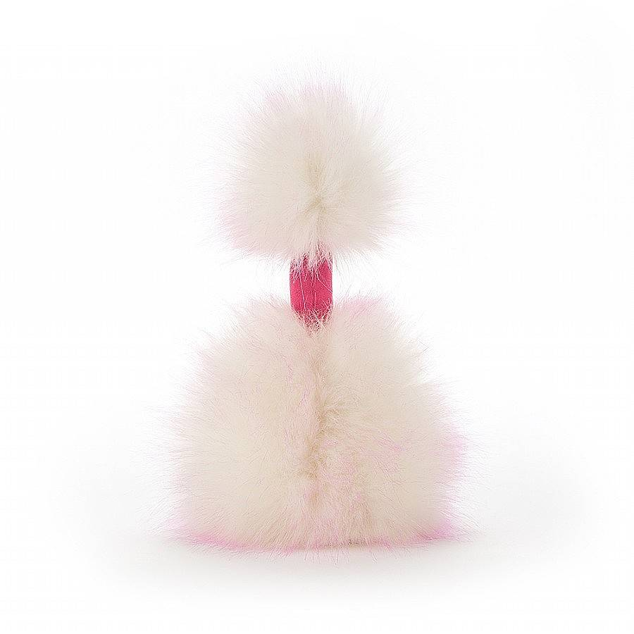 "Jellycat Jellycat Raspberry Ripple Pompom Medium 13"""