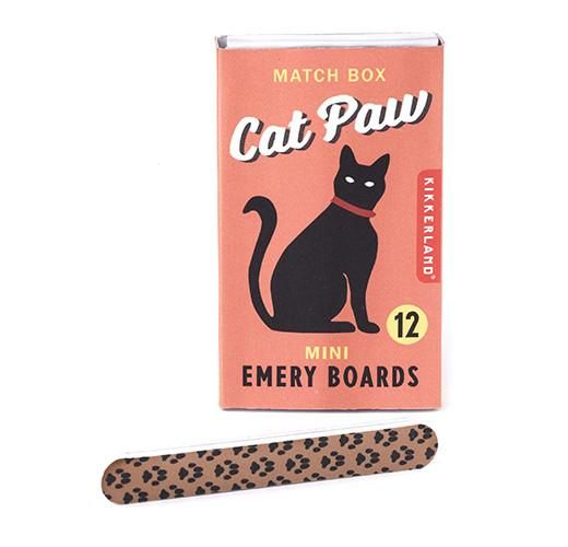 Kikkerland Designs Nail File - Cat Paw