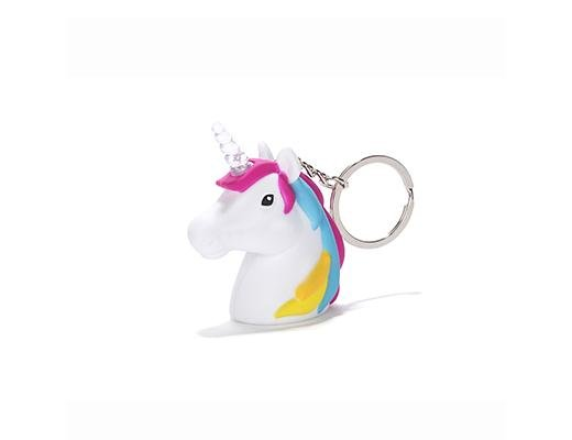 Kikkerland Designs Unicorn LED Keychain