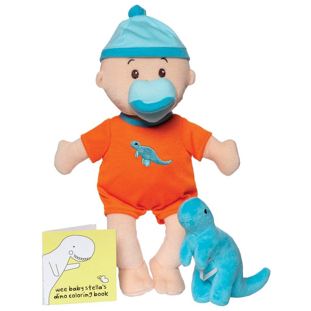 Manhattan Toy Wee Baby Stella Dino Set