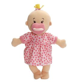 Manhattan Toy Wee Baby Stella Doll Peach with Blonde Hair