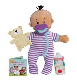 Manhattan Toy Wee Baby Stella Doll Beige Sleep Time Scents Set