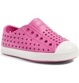 Native Shoes Native Jefferson Youth size 3 Hollywood Pink