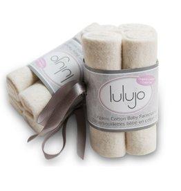 Lulujo Lulujo organic facecloths (4 pack)