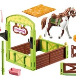 Playmobil Playmobil Abigail & Boomerang with Horse Stall