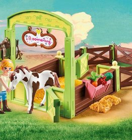 Playmobil Playmobil  Spirit Abigail & Boomerang with Horse Stall