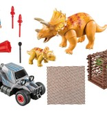 Playmobil Playmobil Enemy Quad with Triceratops