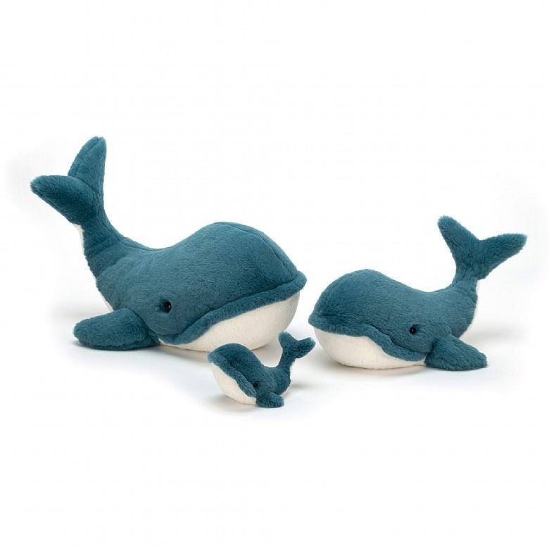 "Jellycat Jellycat Wally Whale Tiny 5"""