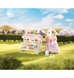 Calico Critters Calico Critters Patty & Paden's Double Stroller Set
