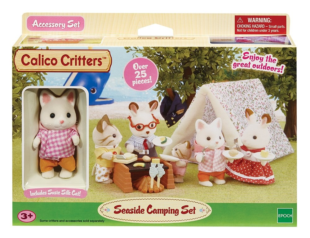 Calico Critters Calico Critters Seaside Camping Trip Set