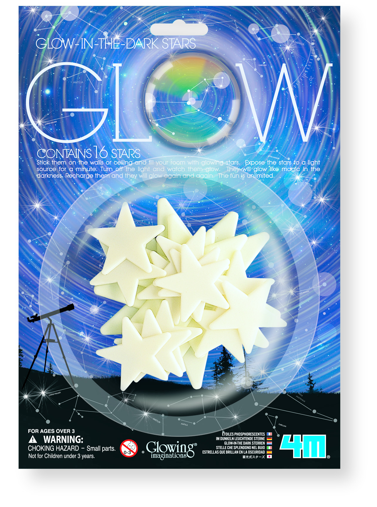 4M Glow Stars