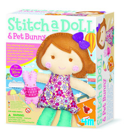 4M Stitch A Doll - Travel