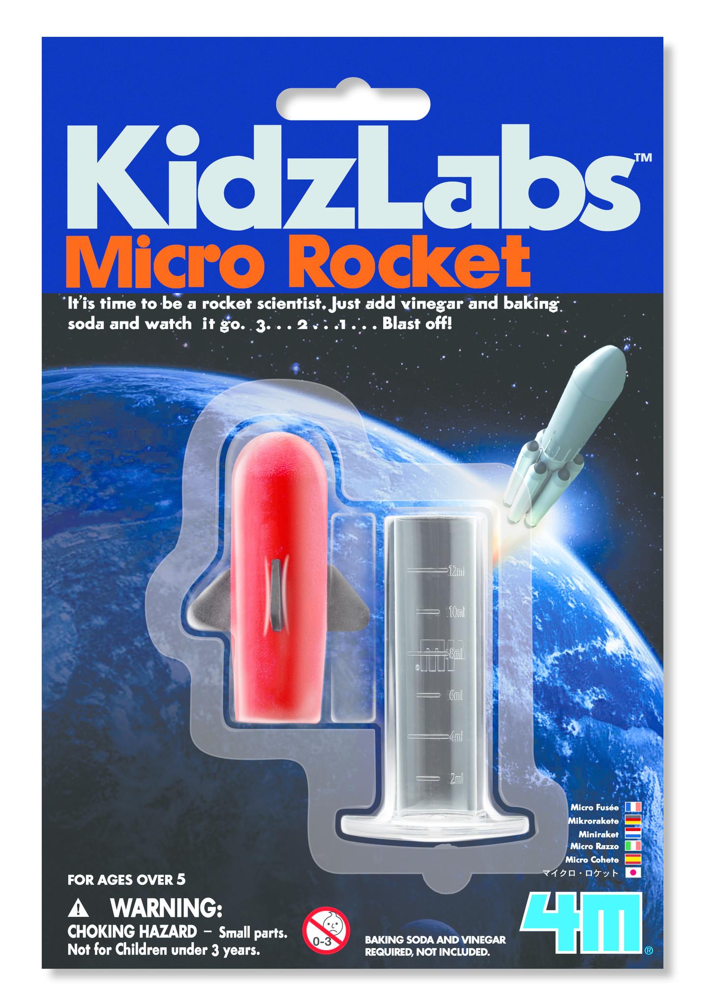 4M 4M KidzLabs Micro Rocket