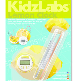 4M KidzLabs Lemon Clock