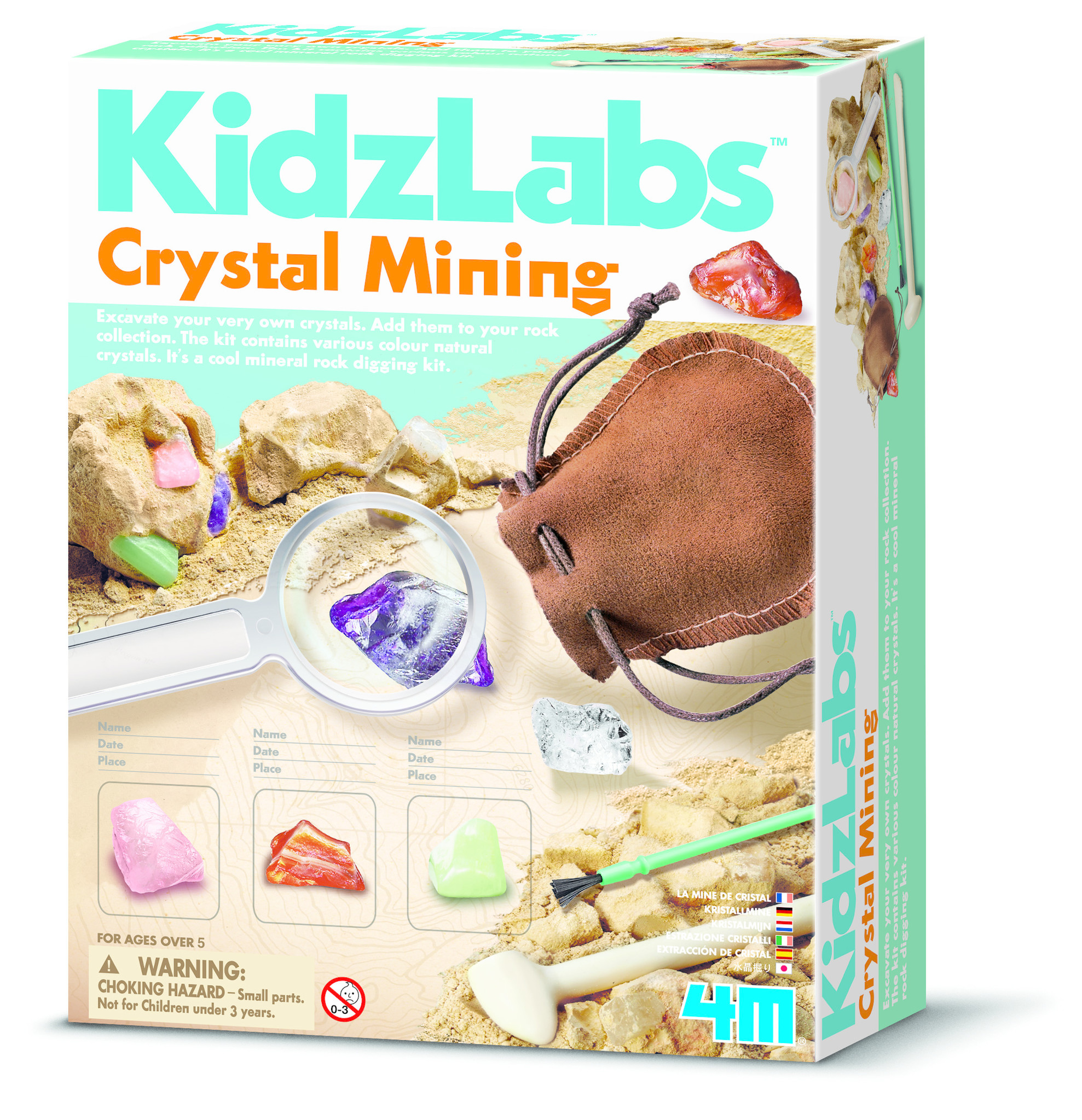 4M KidzLabs Crystal Mining
