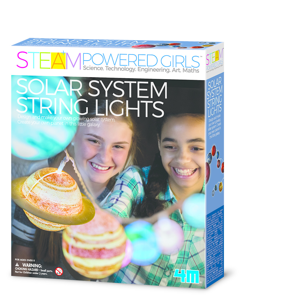 4M Light-Up Solar System - STEAM Kids