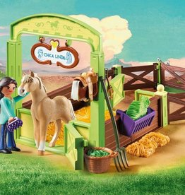 Playmobil Playmobil Pru & Chica Linda with Horse Stall