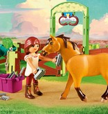 Playmobil Playmobil Lucky & Spirit with Horse Stall