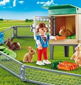 Playmobil Playmobil Bunny Barn Carry Case